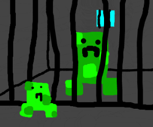 Creeper visits his dad in prison.