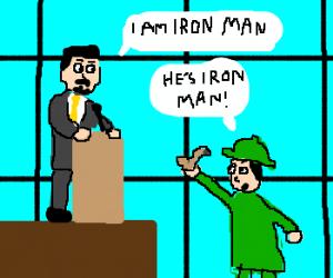 Sherlock deducts Tony Stark is Iron Man