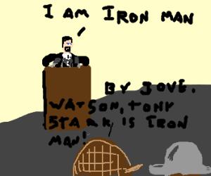 Sherlock Holmes Deduces Ironmans True identity