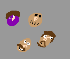 If the Drawception Gang were M&Ms....