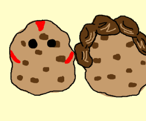 Drawception vets in cookie form