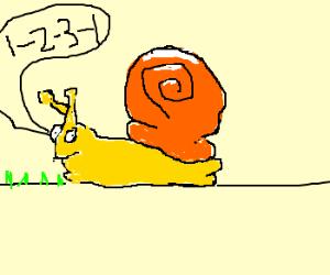 Snail counts 1-2-3-1