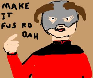 Captain Picard is the Dovahkiin!?