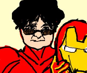 Yoko Ono was Iron Man all along!