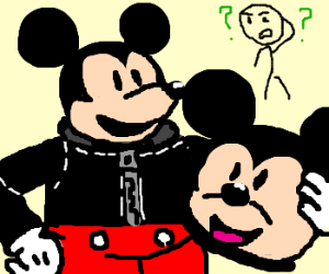 The Mickey Mouse incident at Disneyland