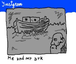 Noah's ark - Follow it on Instagram!