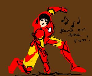 McCartney is Iron man