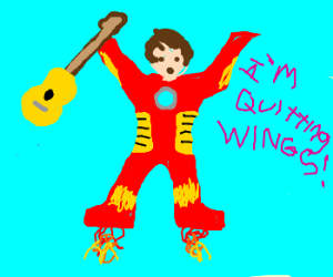 """McCartney is Ironman don't need """"Wings"""" to fly"""