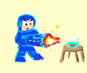 Mega Man Kills a Fish Called Wanda