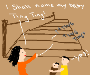 How do Chinese decide names of their children?