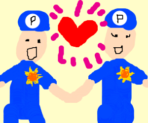 Policeman's valentine