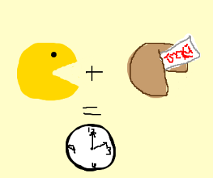 Pacman + Fortune = Time