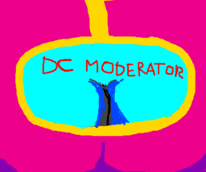Leilei's cleavage snag job as DC moderator