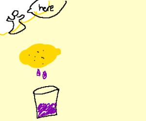 When life gives you lemons, make grape soda.