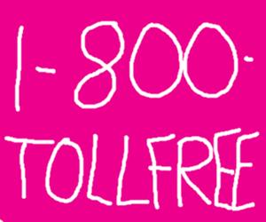 Toll free line