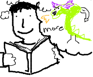 Man likes story; thinks it needs more dragons.