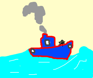 Steam boat, steams questionmark insteadofsteam