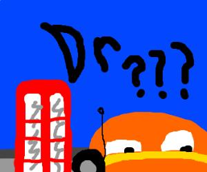 Dr who as a car. (y u no skip dude?)