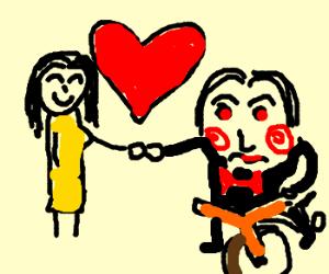 I love you, too, Jigsaw!  <3