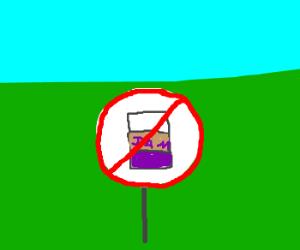 proibido mijar