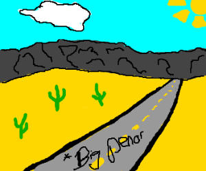 Just found a note on the road. Says: BIG PEN--