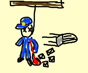 Postman Pat commits suicide