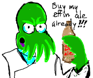 Intimidating Zoidthulu promotes personal ale