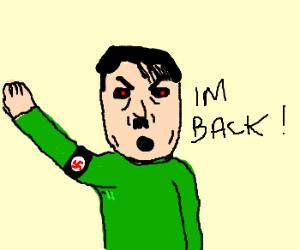 Hitler reincarnation.