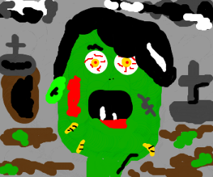 HITLER BECOMES A ZOMBIE