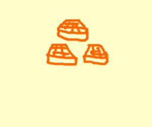 Tri-force Waffle