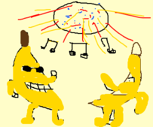 dancing bananas