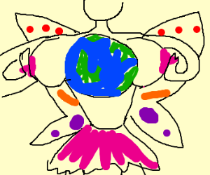 A fairy made the world small