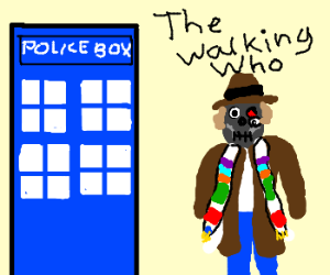 Cross Between Doctor Who and The Walking Dead