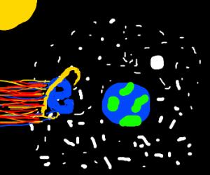 Internet Explorer became an apocalyptic meteor