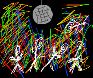 seizure inducing colors only drawception