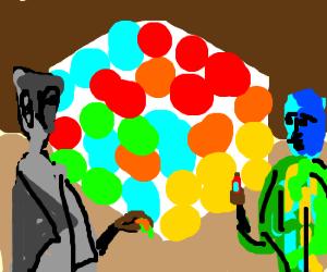 Rubix cube / Picasso or matisse?