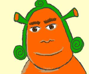Shrek is an oompa loompa