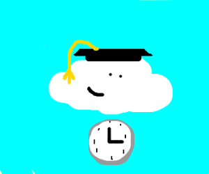 Cloud graduates on time