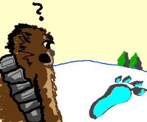 Wookie riddled about Bigfoot