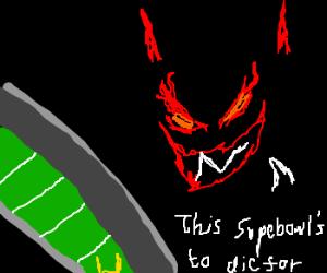 devilish super bowl ad