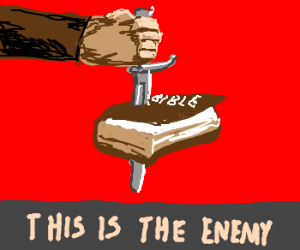 Anti-Papal Propaganda Poster