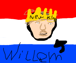 The new king of the Netherlands