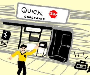 Asian angry at quick stop
