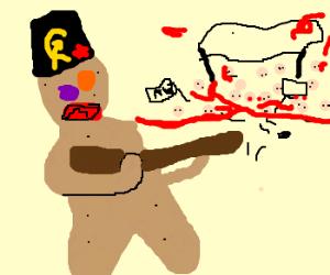 Sniping communist gingerbread men in 1967
