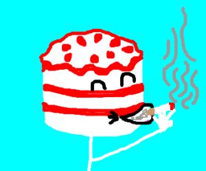 cake headed smoker