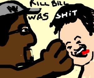 Spike Lee beats up Quentin Tarantino