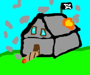 pirate house smoking