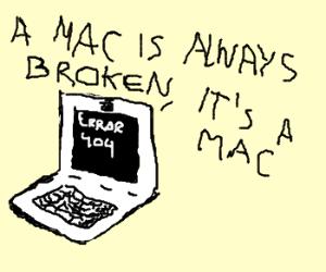 My Mac is broken