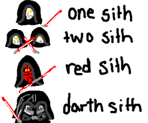Sith Lord children's book