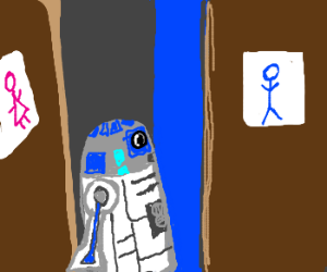 R2D2 is actually female!